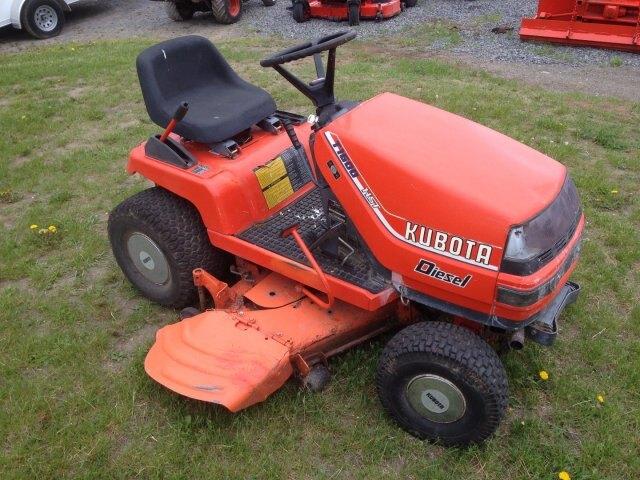 Kubota Lawn Tractor >> Kubota T1600 Diesel Lawn Tractor