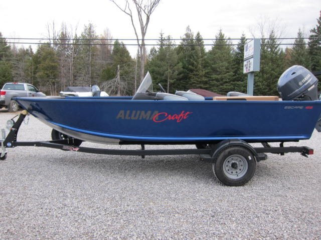 2021 Alumacraft boat for sale, model of the boat is Escape 165 CS & Image # 14 of 16
