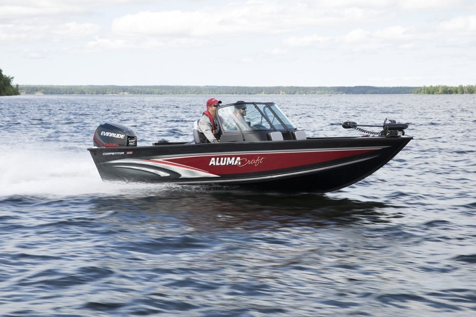 2021 Alumacraft boat for sale, model of the boat is Competitor 165 Sport & Image # 17 of 20