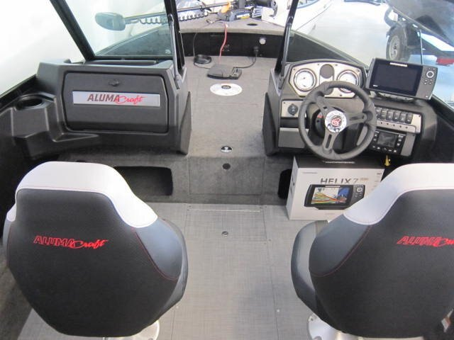 2021 Alumacraft boat for sale, model of the boat is Competitor 165 Sport & Image # 7 of 10