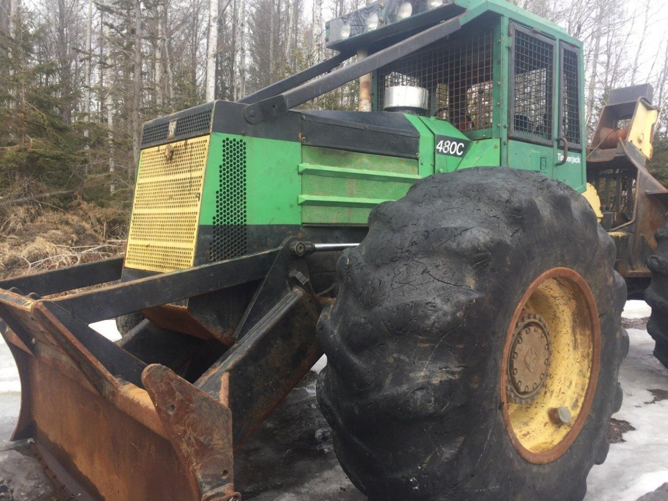 Timberjack Transmission